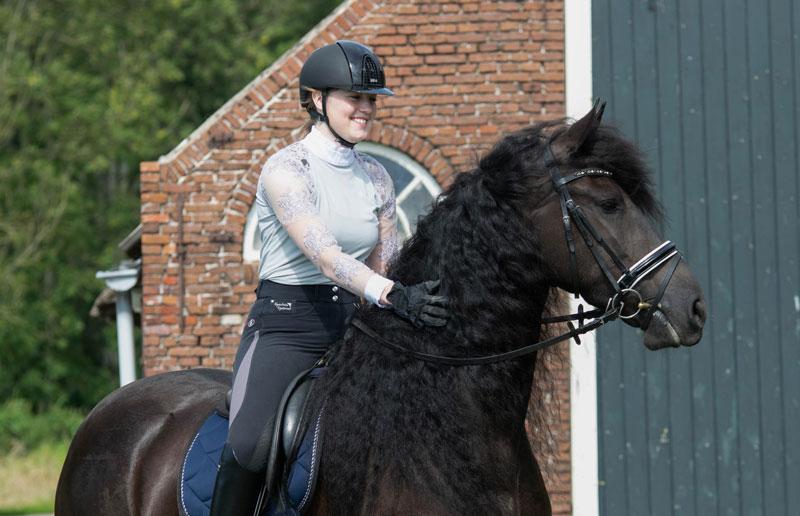 Stagiare op paard